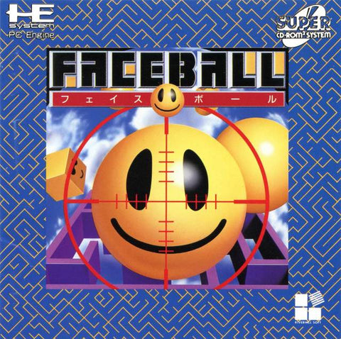 Faceball - Turbo CD (Japan)