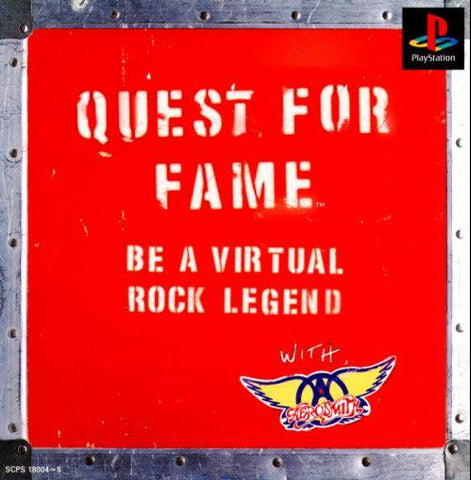 Quest for Fame - PlayStation (Japan)
