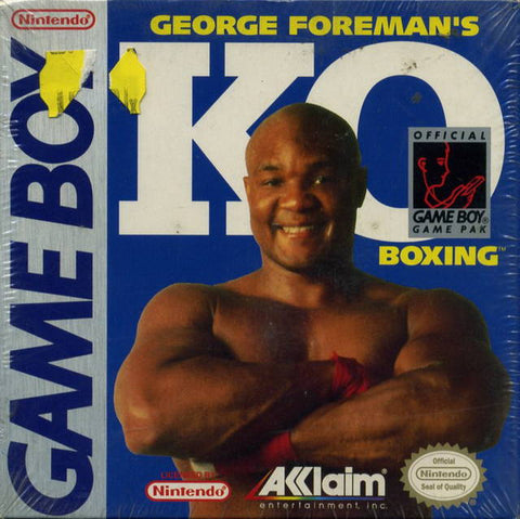 George Foreman's KO Boxing - Game Boy [USED]