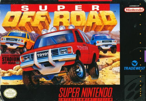 Super Off Road - Super Nintendo [USED]