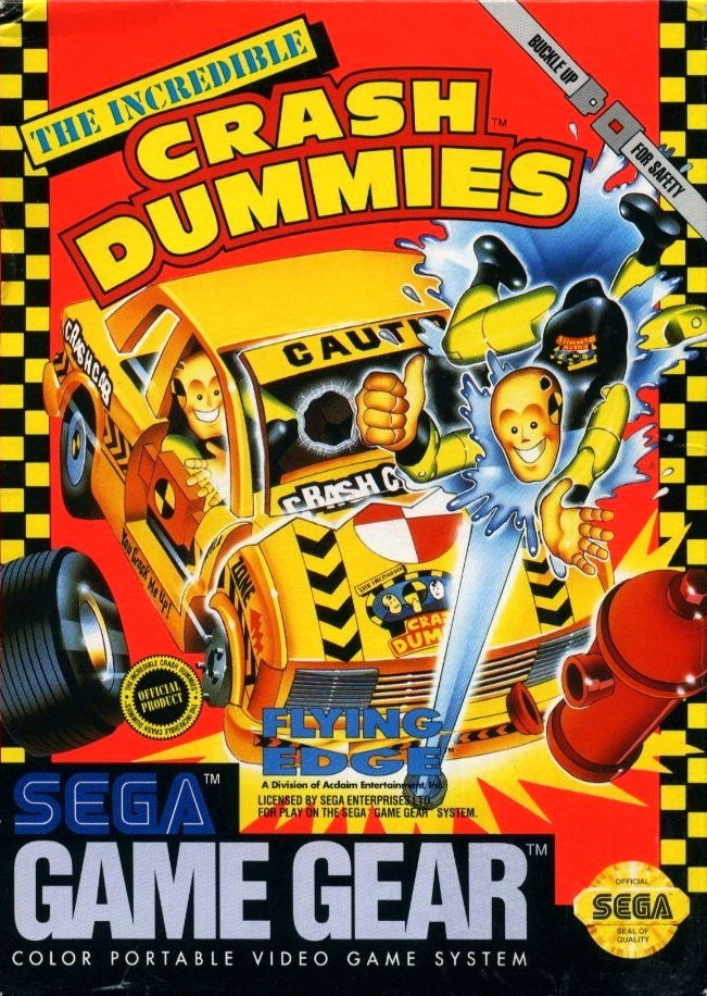 The Incredible Crash Dummies - SEGA GameGear [USED]