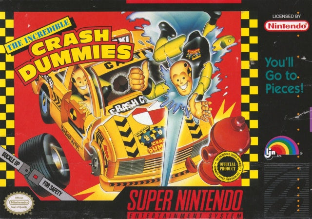 The Incredible Crash Dummies - Super Nintendo [USED]