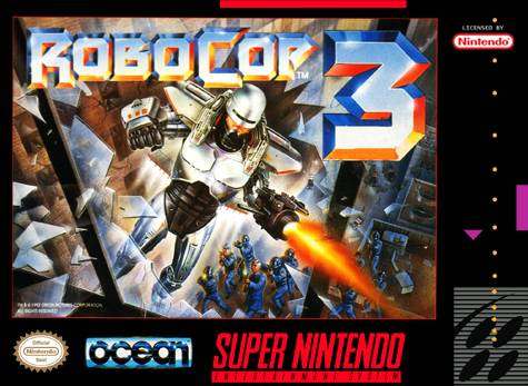 RoboCop 3 - Super Nintendo [USED]
