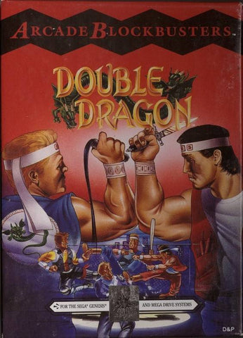 Double Dragon - SEGA Genesis [USED]