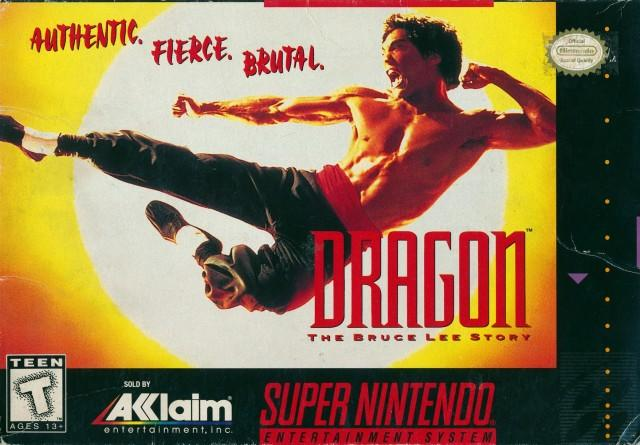 Dragon: The Bruce Lee Story - Super Nintendo [USED]
