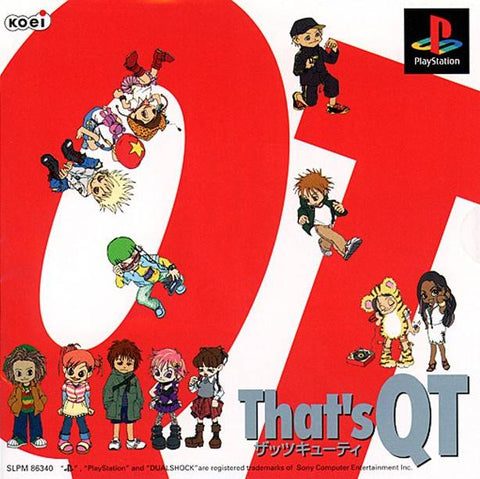 That's QT - PlayStation (Japan)