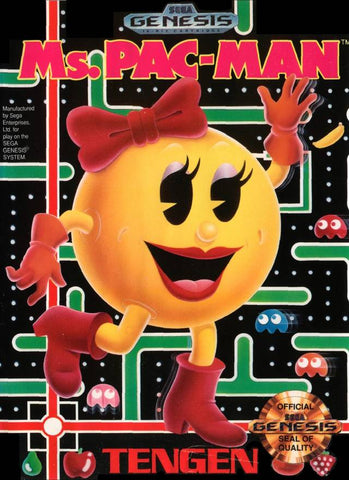 Ms. Pac-Man - SEGA Genesis [USED]
