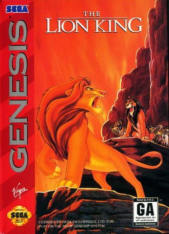 The Lion King - SEGA Genesis [USED]
