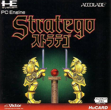 Stratego - TurboGrafx-16 (Japan)