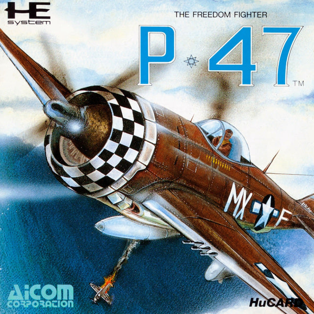 P-47: The Freedom Fighter - TurboGrafx-16 (Japan)