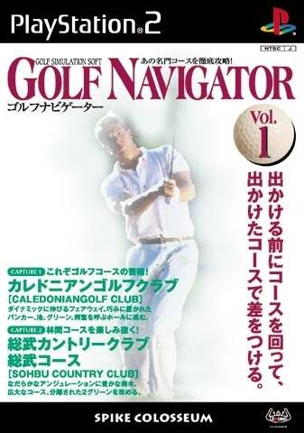 Golf Navigator Vol. 1 - PlayStation 2 (Japan)