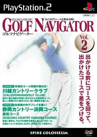 Golf Navigator Vol. 2 - PlayStation 2 (Japan)