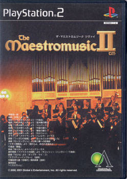The Maestromusic II - PlayStation 2 (Japan)