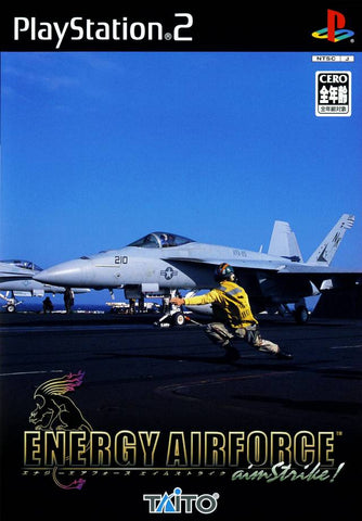 Energy Airforce aimStrike! - PlayStation 2 (Japan)