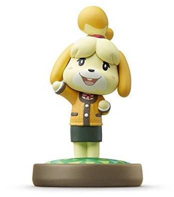 Isabelle - Winter Outfit (Animal Crossing series) Amiibo