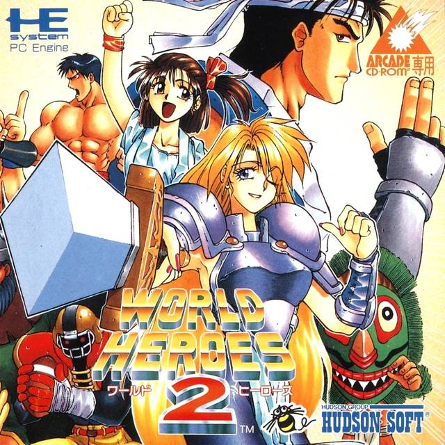 World Heroes 2 - Turbo CD (Japan)
