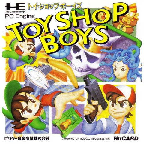 Toy Shop Boys - TurboGrafx-16 (Japan)