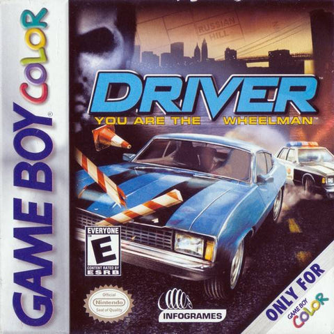 Driver: You are the Wheelman - Game Boy Color [USED]