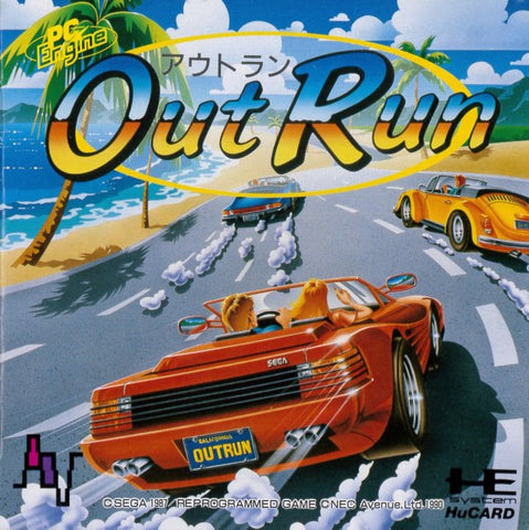 OutRun - TurboGrafx-16 (Japan)