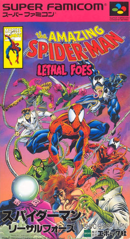 The Amazing Spider-Man: Lethal Foes - Super Famicom (Japan) [USED]