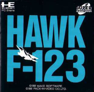 Hawk F-123 - Turbo CD (Japan)