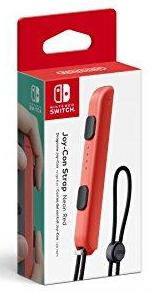 Nintendo Joy-Con Strap - Neon Red