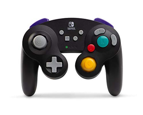 PowerA Wireless Controller for Nintendo Switch - GameCube Style Black - Nintendo Switch