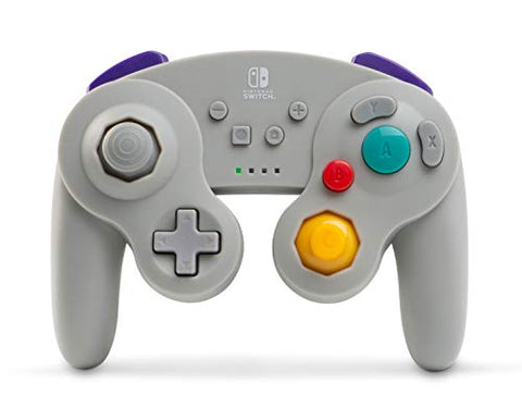 PowerA Wireless Controller for Nintendo Switch - GameCube Style Grey - Nintendo Switch