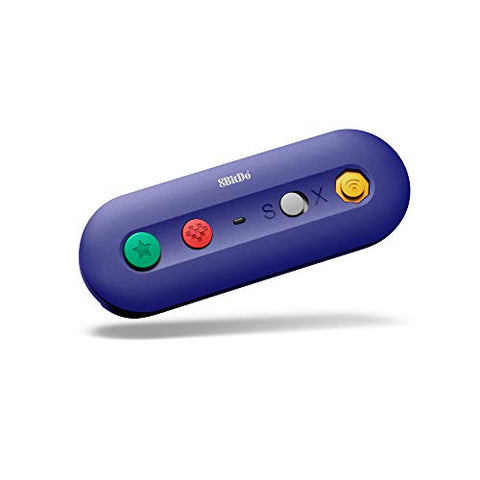 8Bitdo Gbros. Wireless Adapter for Nintendo Switch Works with Wired GameCube & Classic Edition Controllers - Nintendo Switch