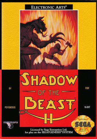 Shadow of the Beast II - SEGA Genesis [USED]