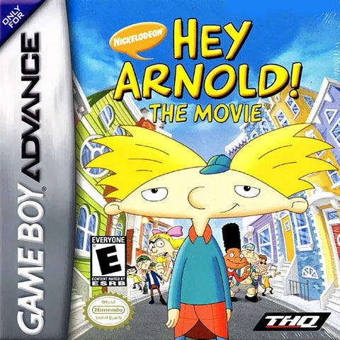 Hey Arnold! The Movie - Game Boy Advance [USED]