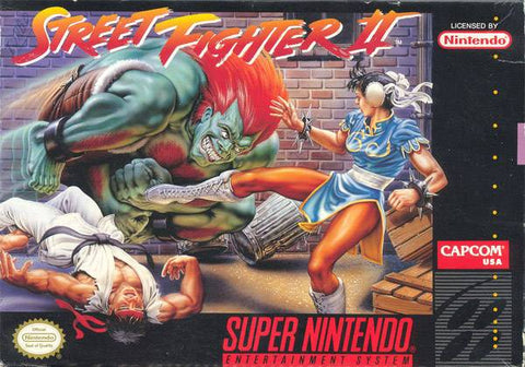 Street Fighter II - Super Nintendo [USED]