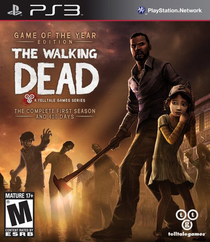 The Walking Dead: A Telltale Games Series - Game of the Year Edition - PlayStation 3