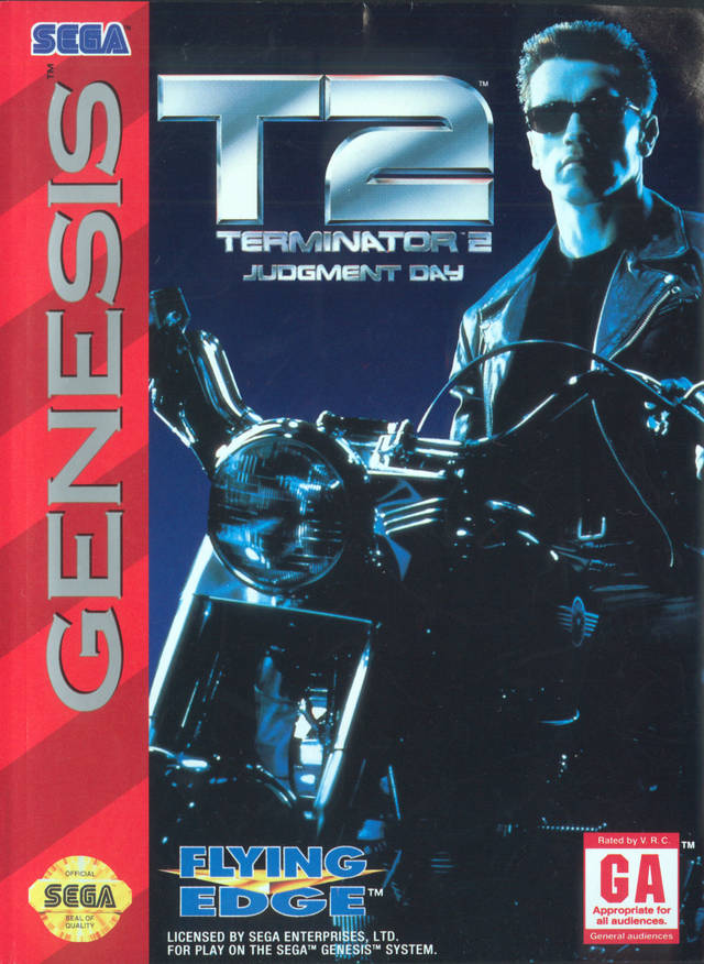 Terminator 2: Judgment Day - SEGA Genesis [USED]