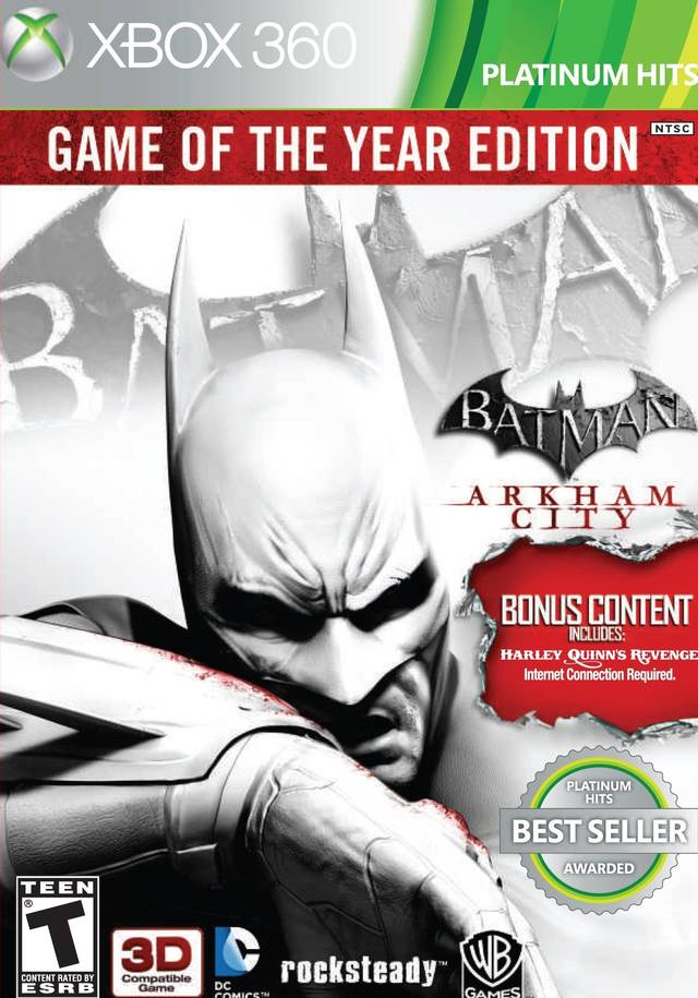 Batman: Arkham City - Game of the Year Edition (Platinum Hits) - Xbox 360