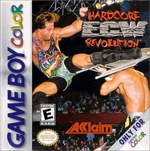 ECW Hardcore Revolution - Game Boy Color [USED]