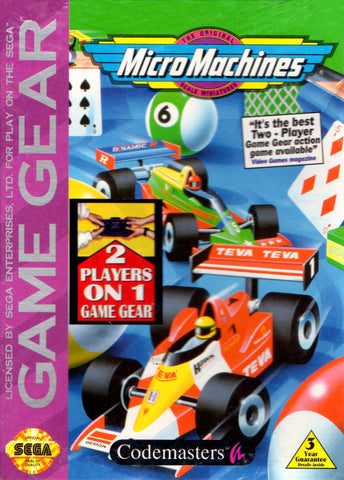 Micro Machines - SEGA GameGear [USED]