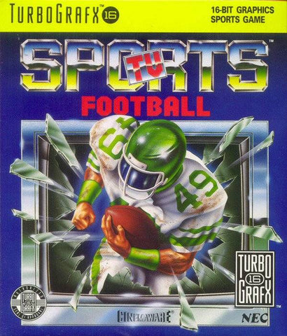 TV Sports Football - TurboGrafx-16