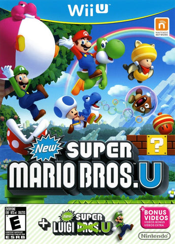 New Super Mario Bros. U + New Super Luigi U - Nintendo Wii U [USED]