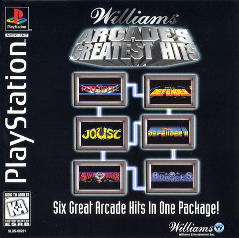Williams Arcade's Greatest Hits - PlayStation