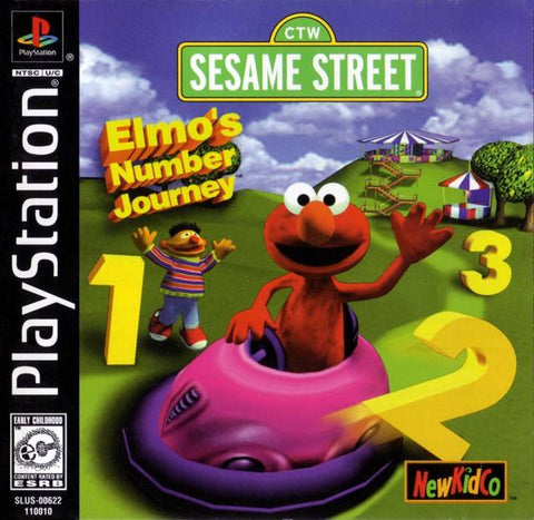 Sesame Street: Elmo's Number Journey - PlayStation