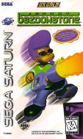 Johnny Bazookatone - SEGA Saturn [USED]
