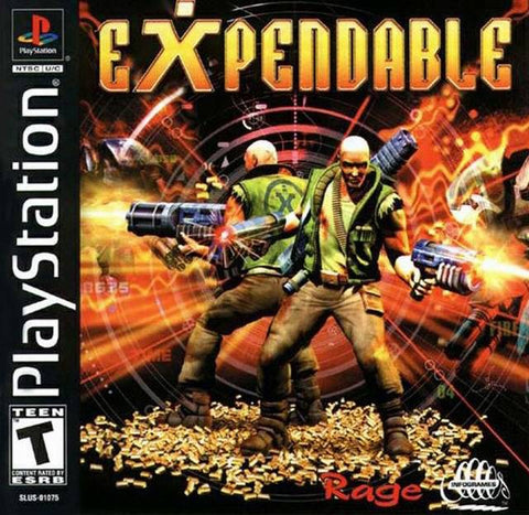 Expendable - PlayStation