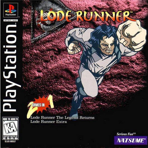 Lode Runner - PlayStation