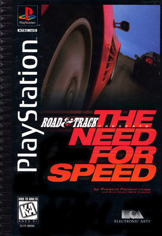 Road & Track Presents: The Need for Speed (Long Box) - PlayStation