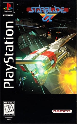 Starblade Alpha (Long Box) - PlayStation