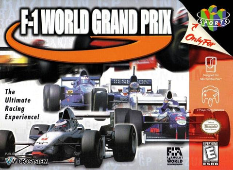 F-1 World Grand Prix - Nintendo 64 [USED]