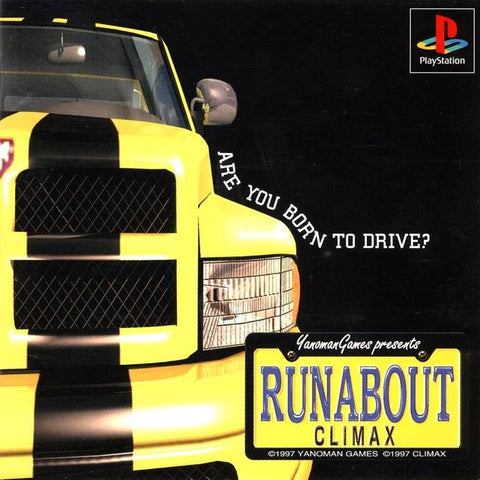 Runabout - PlayStation (Japan)