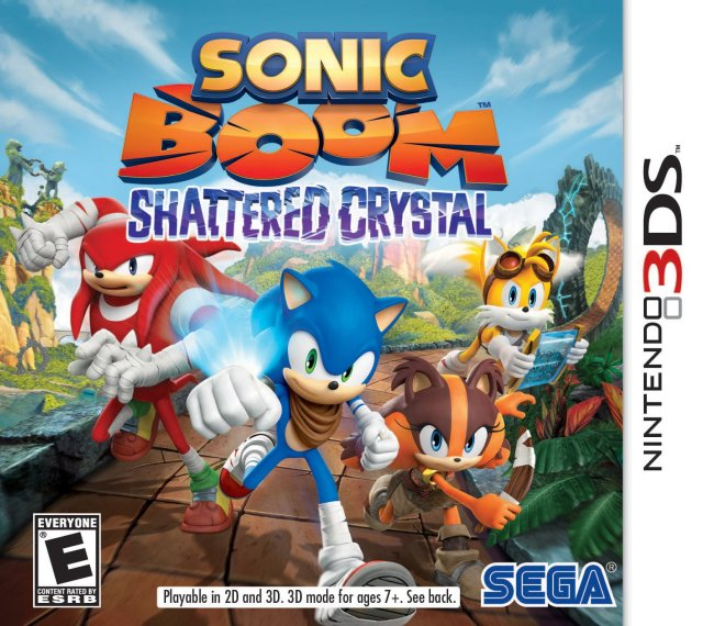 Sonic Boom: Shattered Crystal - Nintendo 3DS [NEW]