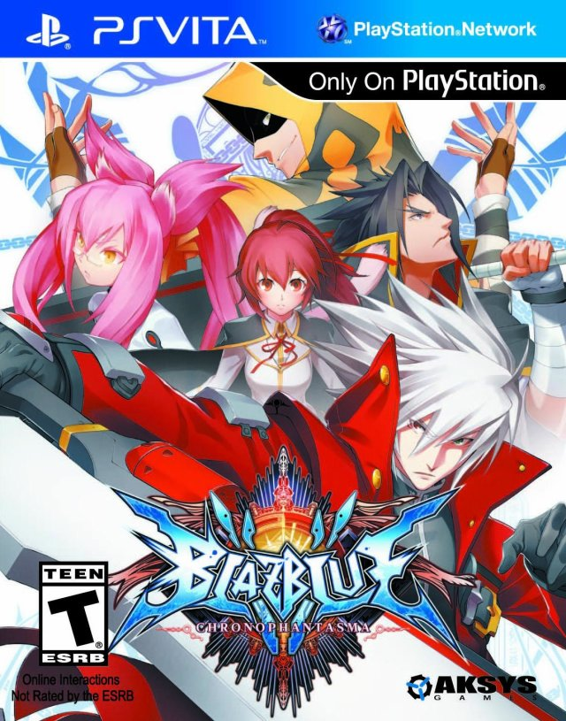 BlazBlue: Chrono Phantasma - PS Vita